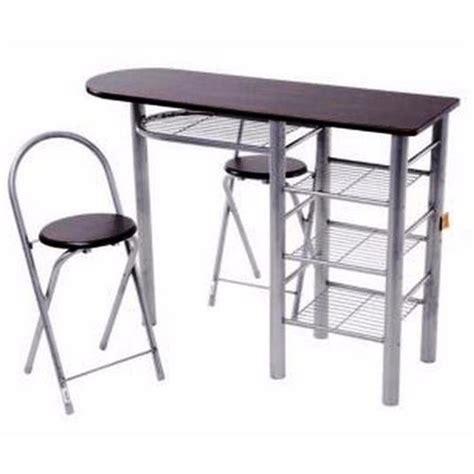sillas plegables comedor desayunador mesa auxiliar comedor cocina 2 sillas