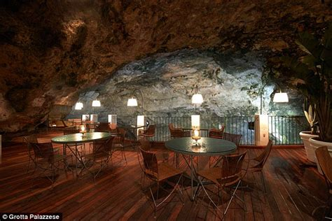 the cliff restaurant italy grotta palazzese stunning restaurant built inside a cave