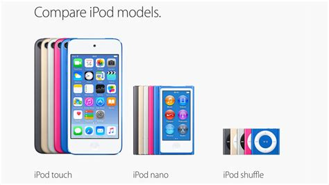 best ipods best ipod ipod buying guide uk 2018 macworld uk