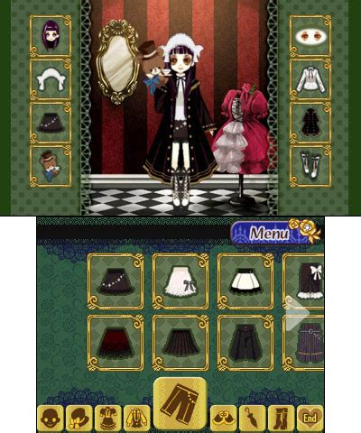 doll fashion atelier 3ds doll fashion atelier screenshots family friendly gaming