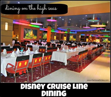 delicious disney cruise line dining on the high seas