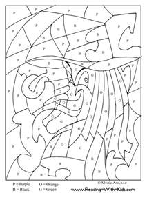color by number kindergarten kindergarten color by number worksheets az coloring pages
