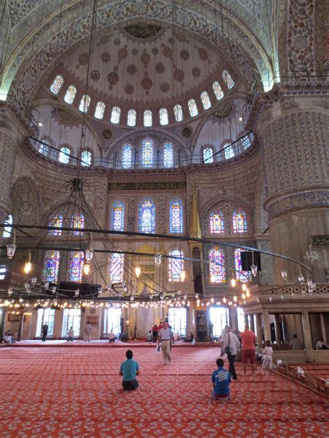 moschea istanbul interno istanbul moschea parziale interno maupes