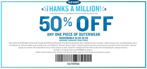 old navy coupons nov image gallery old navy promo codes