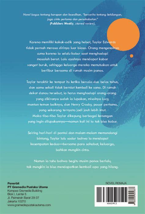Second Chance Summer Kesempatan Kedua jual buku kesempatan kedua second chance summer oleh