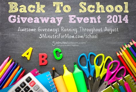 Enter Free Events Monthly Giveaway by 15 Awesome Back To School Ideas Tips Roundup 5
