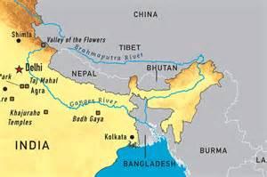 Brahmaputra river map india china agree to share flood data on