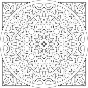 Adult Mandala Coloring Pages sketch template