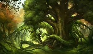 Image result for tree dragon