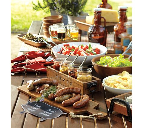 37 Table Decoration Ideas For A Summer Garden Party Backyard Bbq Menu Ideas