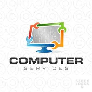 computer services logos and search