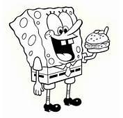 Sponge Bob Coloring Page  Child