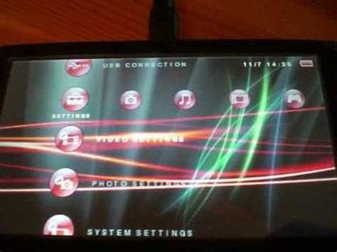 psp icon themes how to install a psp theme icons and xmb waves youtube