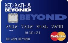 bed bath and beyond customer service credit card catalog credit card comparisons news reviews