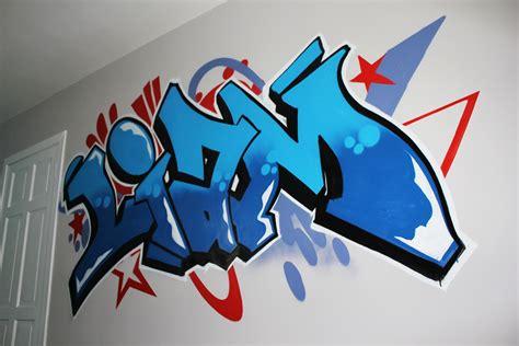 kids bedroom murals professional graffiti mural artist