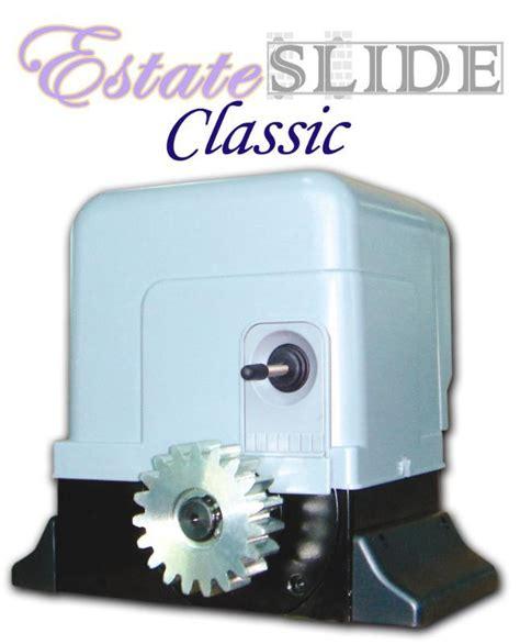 estate swing gate opener estate swing e sl450 classic single slide gate opener