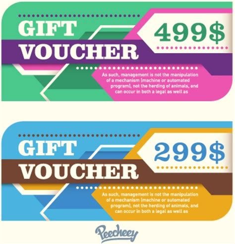 coupon template for adobe illustrator retro stylized gift voucher template free vector in adobe