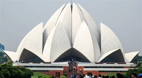 monument lotus temple   number