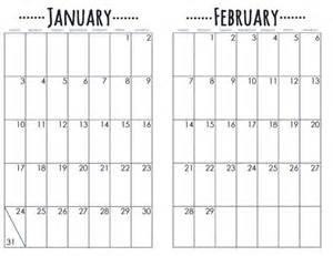 calendar journal template bullet journal printable 2016 calendar template 2016