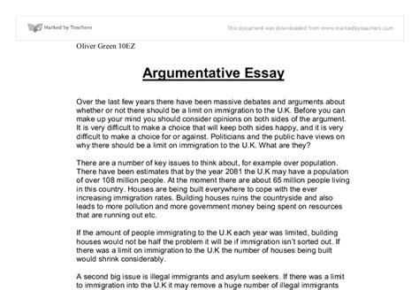 what is an argumentative research paper the exle of argumentative essay okl mindsprout co