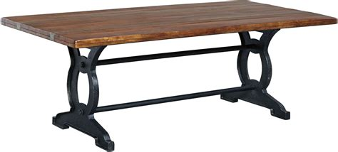 Black And Brown Dining Table Zurani Brown And Black Rectangular Dining Table From Coleman Furniture