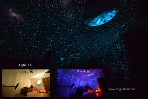 glow in the dark paint for bedroom walls glow in the dark bedroom murals the future of decorating boredombash