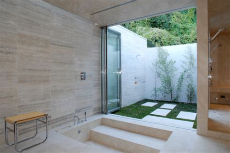 Indoor Outdoor Shower by 12 Luxurious Outdoor Showers Design Milk