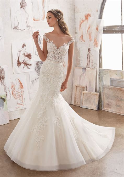 25 best ideas about illusion wedding dresses on pinterest