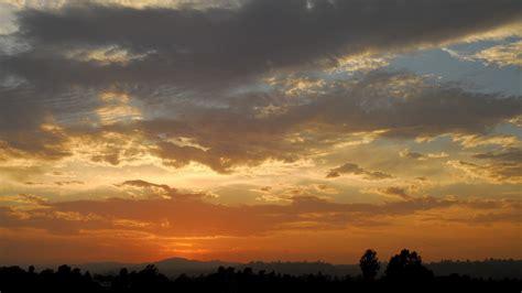 Landscape Sunset Sunset Landscape Wallpaper 721213