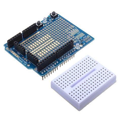 Arduino Uno Breadboard Protoshield Prototype Proto Shield arduino compatible 328 protoshield prototype expansion