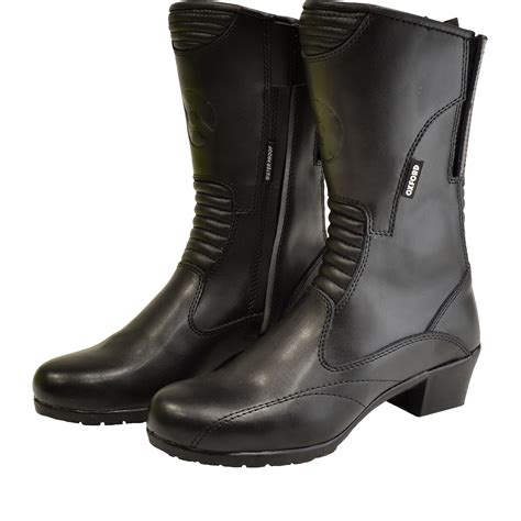 waterproof leather motorcycle boots oxford leather waterproof motorcycle boots