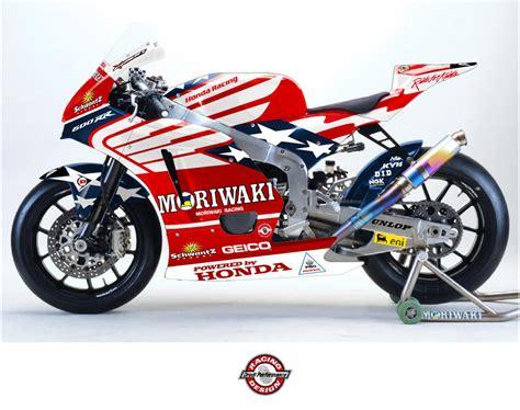 graphics design on bikes american honda moto2 to have drudi performance graphics