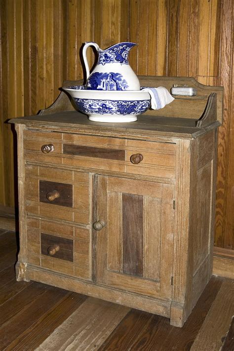 Wash Basin Stand by Antique Wash Stand Photograph By Sally Weigand