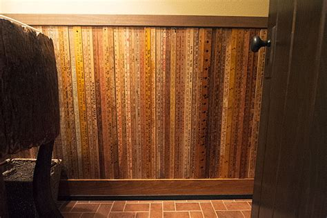 Vintage Wainscoting - the lake house bathroom after making it lovely
