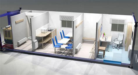 Interior Kitchen Al Moawi Porta Cabins