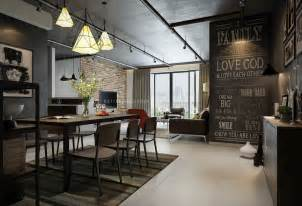 One Wall Kitchen Layout Ideas Creative Chalkboard Wall Interior Design Ideas
