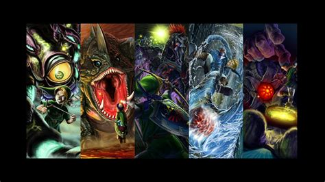legend of zelda map bosses the legend of zelda ocarina of time wallpapers 71 pictures