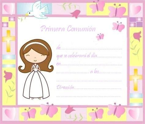 tarjetas de comunion personalizadas para imprimir gratis sgblogosfera amigos de jes 250 s invitaciones para primera