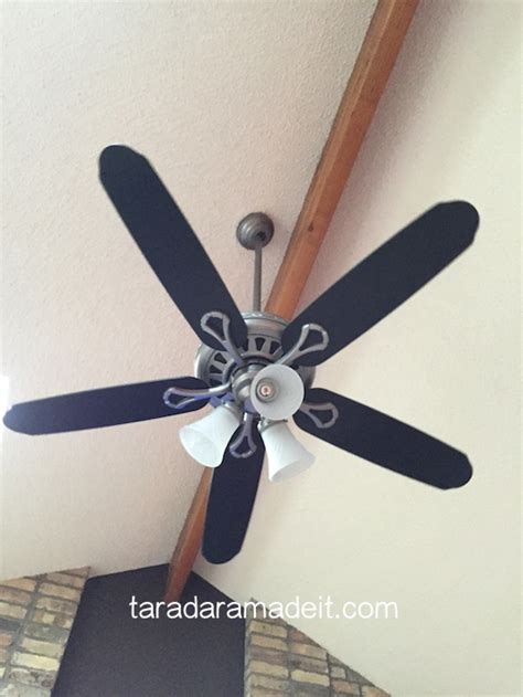 how to paint a ceiling fan paint your ceiling fan without removing it from the