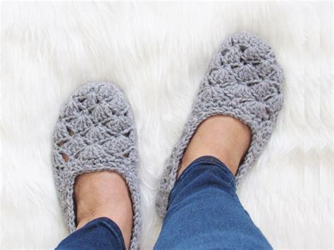 beginner crochet slipper pattern crochet dreamz