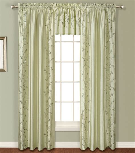 sage drapes addison faux silk panels sage united view all curtains
