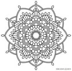 112 Printable Intricate Mandala Coloring Pages Instant