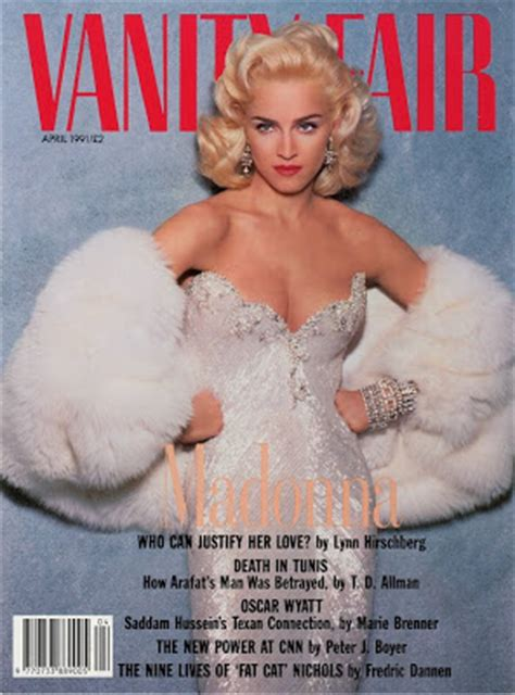 Madonna In Vanity Fair by Richard Says Madonna Revisited