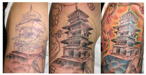 tattoo japanese temple image gallery japanese temple tattoo