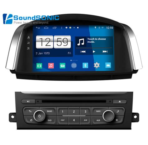 hd player for android for renault koleos for samsung qm5 android 4 4 4 2 din car radio stereo dvd gps navigation audio