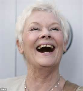 judy dench teeth why judy is the happiest girl and the british names