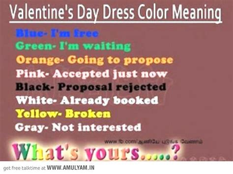 days meaning s day dress color meaning