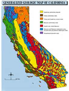 geologic map of california geology 3 geology of california