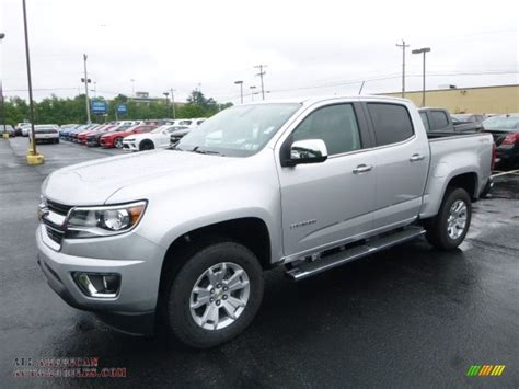 Vanity 6 Mp3 2017 Chevrolet Colorado Lt Crew Cab 4x4 In Silver Ice