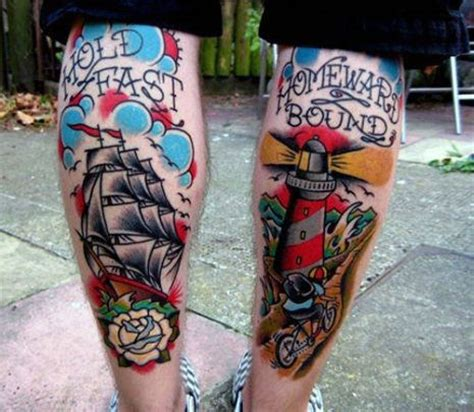 hold fast tattoo meaning 40 traditional lighthouse designs for school